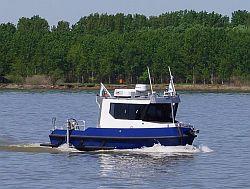малък кораб за хидрографски измервания